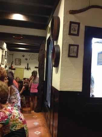 Bodega La Rambla: Part of restaurant