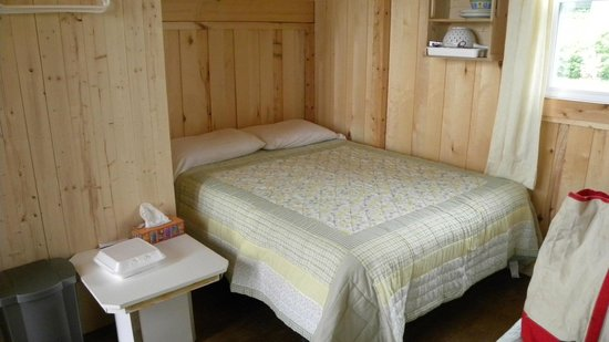 Nature Ocean Chalets: Double bed