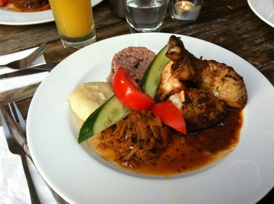 RosaCaleta: Jerk chicken