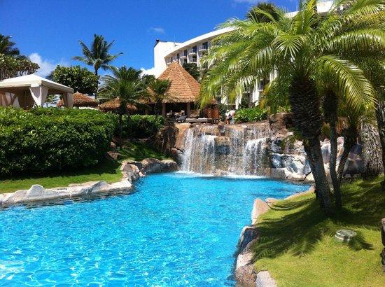 Westin Maui Resort And Spa : Lower Beachfront Pool area