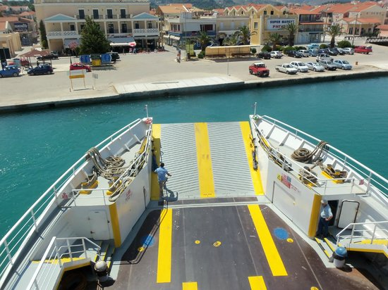 Cephalonia Palace Hotel: Ferry Crossing
