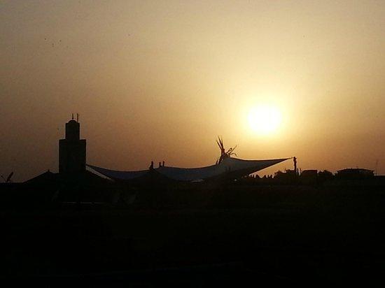 Riad Dar Tayib: Vue de la terrasse