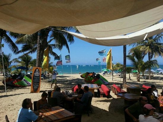Front Loop Cabarete: View from my table :))