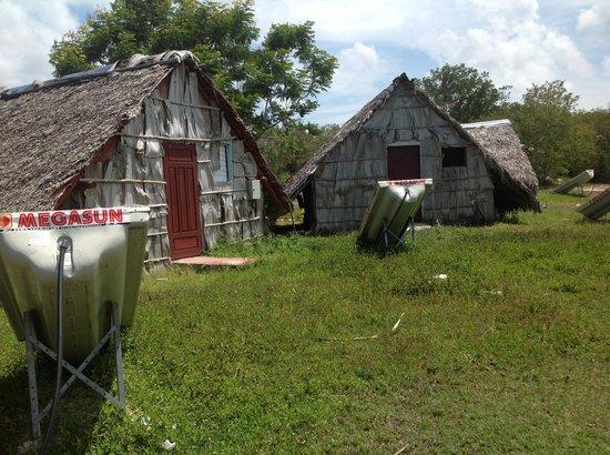Sitio La Guira: Parte trasera