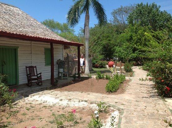 Sitio La Guira: Areas de estar