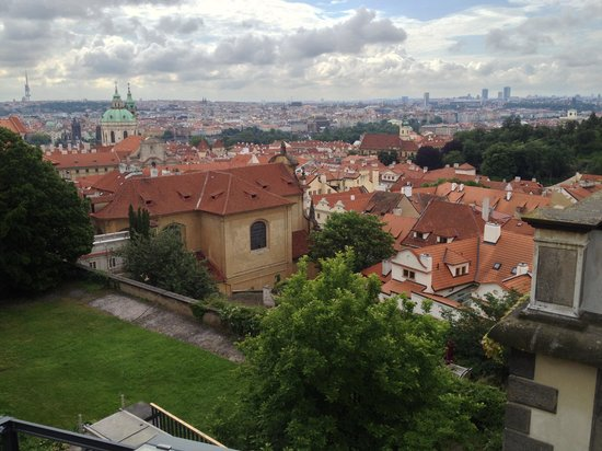 قلعة براج: View over Prague