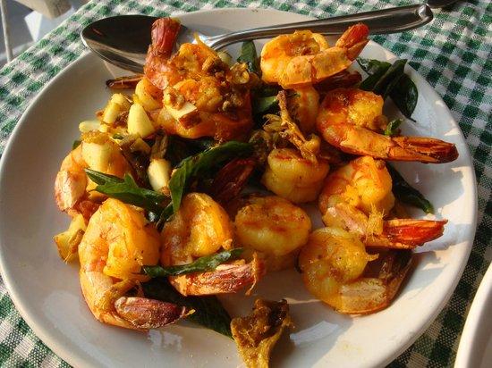 Casa Linda: Die berühmten Kokosshrimps