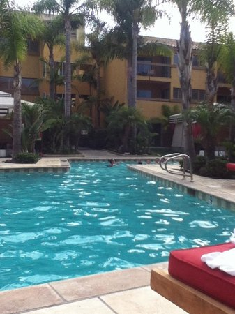 Atrium Hotel at Orange County Airport: the pool