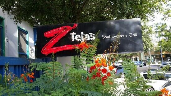 Z'Tejas Southwestern Grill : Where good time begins