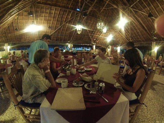 "Casa del Mar Cozumel Hotel & Dive Resort: Our ""Last Supper"" together"