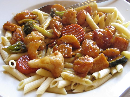 Hayward's Restaurant: Shrimp Teriyaki
