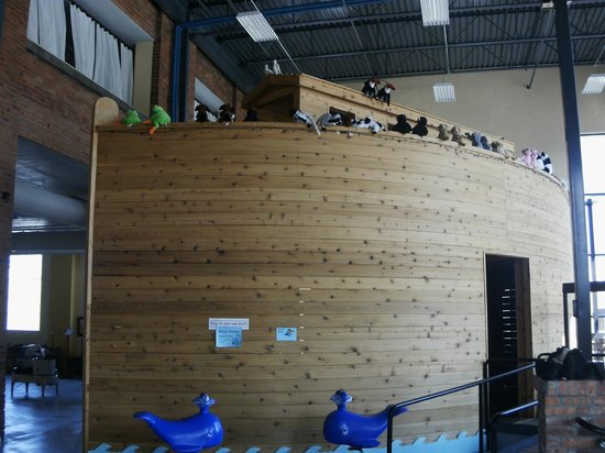 Museum of Clean: Noah's Ark for ids to climb through