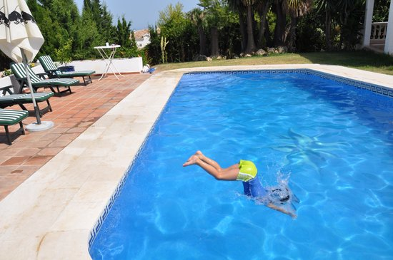 The Golf and Gourmet Place Marbella: notre fils