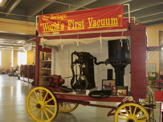 Museum of Clean: The first major vacuum