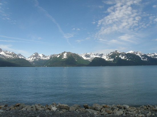 Alaska Base Camp: Spectacular views from deck!