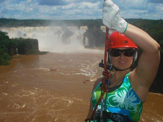 Abseiling in the Iguacu Canyon: Rapel indescritível