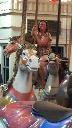 Louisiana Boardwalk : carousel at the boardwalk after a couple drinks at Joe's