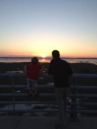 Hotel Rimouski: Sunset