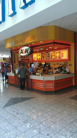 A&W Restaurant: food court location