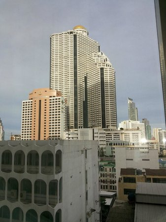 Holiday Inn Bangkok Silom: view from room