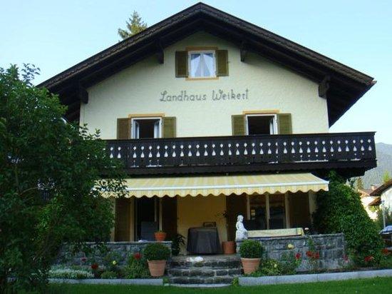 Landhaus Weikert: Balkon Wohng. 3