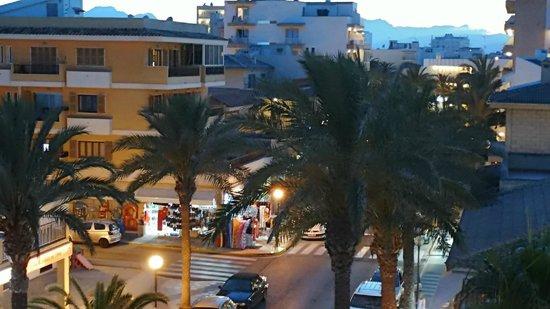 Hotel JS Miramar: Blick vom Balkon