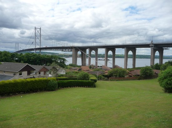 Premier Inn Dundee East Hotel: one of the bridges
