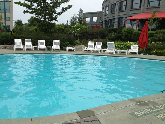 Pool Area Picture Of Brookstreet Hotel Ottawa Tripadvisor