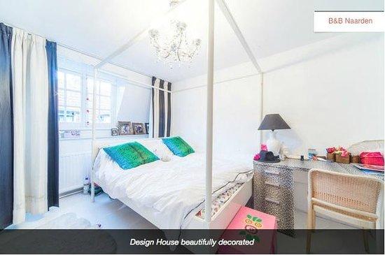 Design B&B Naarden-Vesting: Bedroom