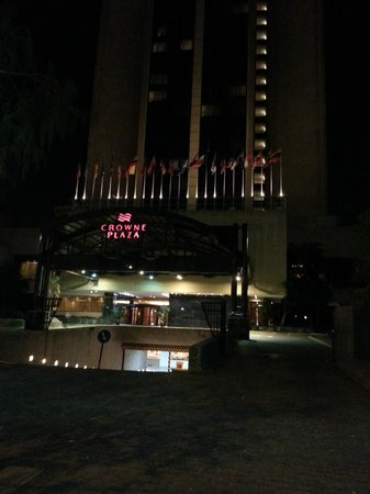 Crowne Plaza Santiago: Crowne Plaza - noite
