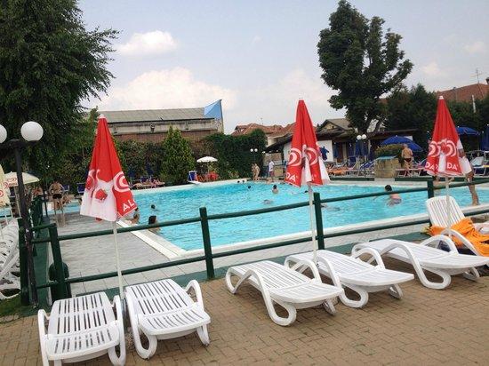 Hotel Villa Glicini: piscina