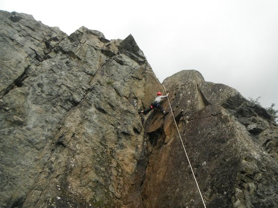 Crags Adventures: Getting to grips with it
