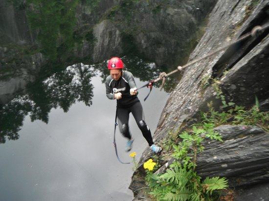 Crags Adventures: Swinging around