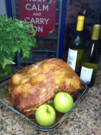 Liberty Kitchen: roast leg of pork