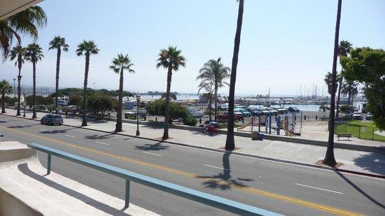 BEST WESTERN Beachside Inn: Vista da marina pelo apartamento