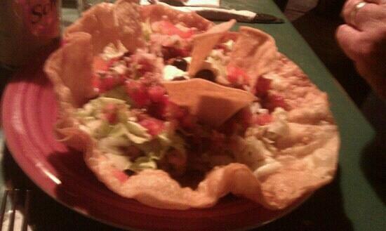 Gringo's: The taco salad
