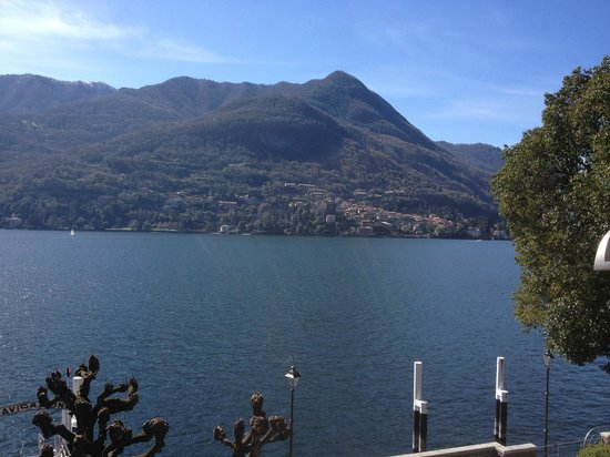 Hotel Orso Bruno: View from our Room
