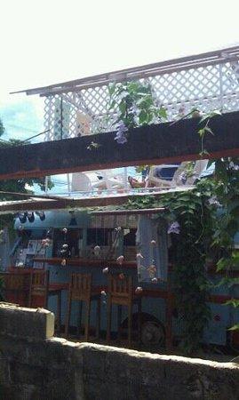 The Bocas Blended bar side.
