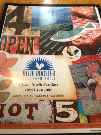 Blue Rooster Southern Grill: Menu