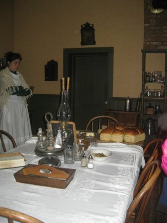 Historic Forestville: Kitchen in house
