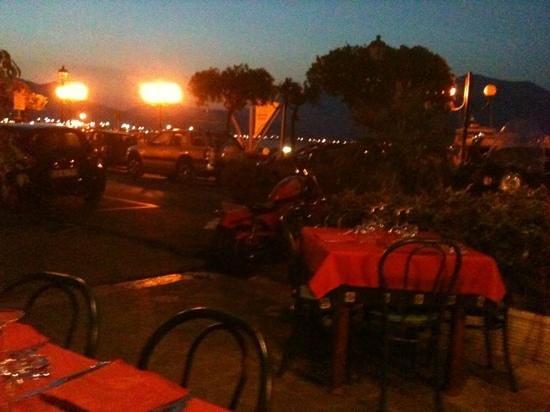 Taverna Lupo di Mare: buona location