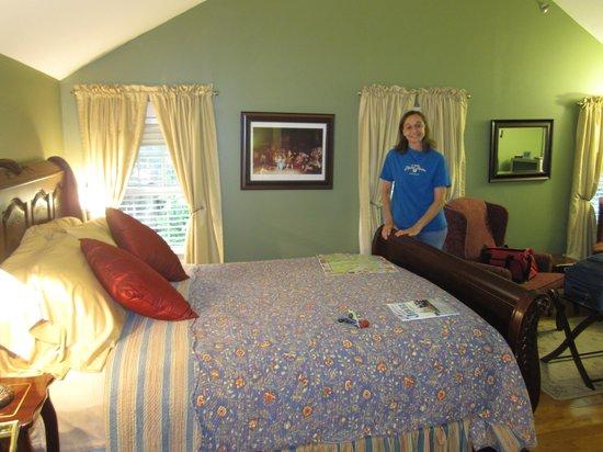 Captain Swift Inn: In the Greensleeves room