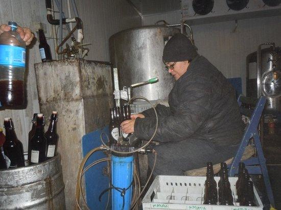 Matutu Brewery : Bottling