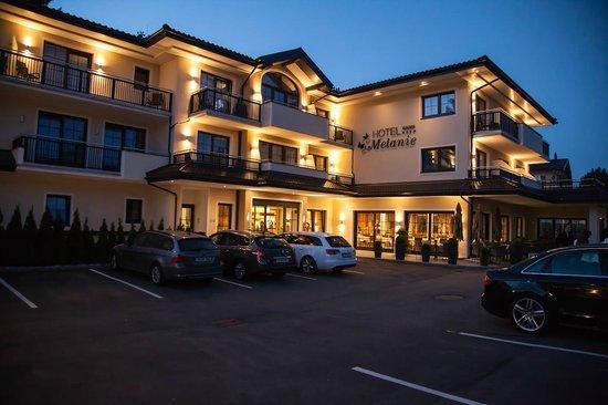 Hotel Garni Melanie: Le soir
