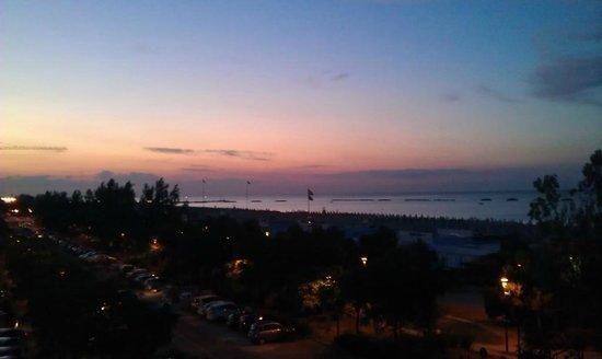Hotel Susanna: Vista dalla camera sera