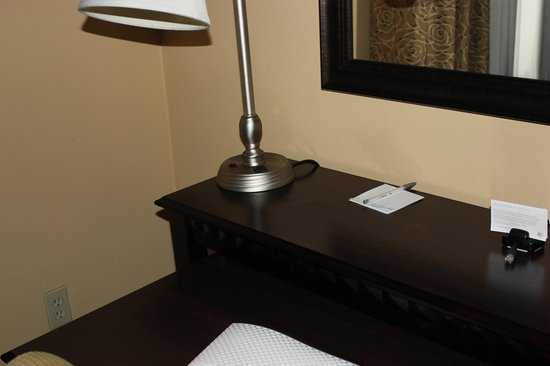 Hampton Inn & Suites Thousand Oaks: Plenty of Desk Space
