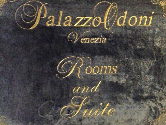 Palazzo Odoni: Logo
