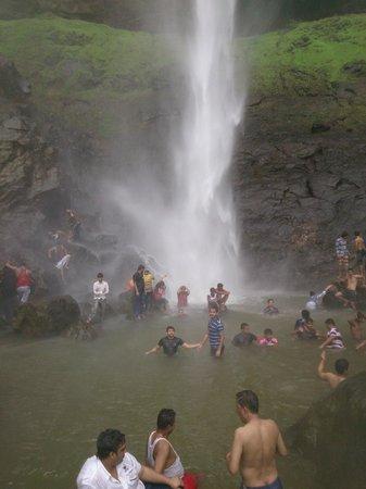 Navi Mumbai, India: pandavkada waterfall, opp. to central park, kharghar