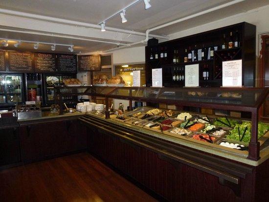 Sound View Cafe: Amazing salad bar
