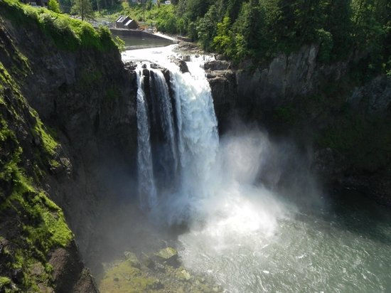 Snoqualmie Falls & Winery Tour: The falls